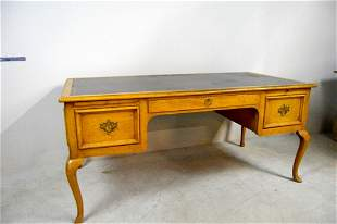 Queen Anne Style Faux Partners Writing Desk