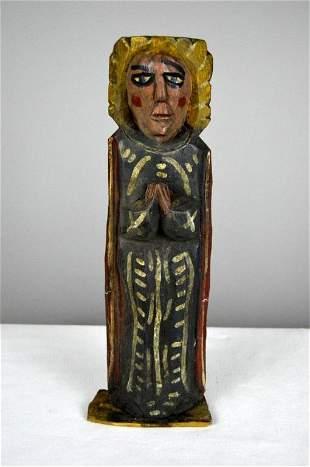 Wooden Icon of Saint