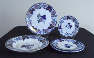 Francis Morely Ironstone Dinner Service Blossom