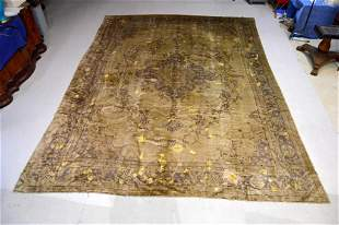 Large Hand Knotted Persian Wool Rug