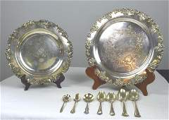 Collection of Silver Plate Items