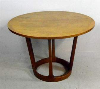 Mid Century Modern Butternut Breakfast Table
