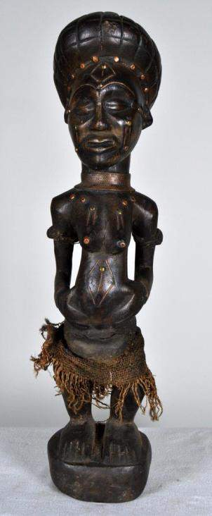 Chokwe Statue of a Woman
