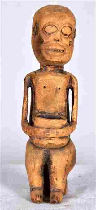 Dogon Figure of Seated Woman
