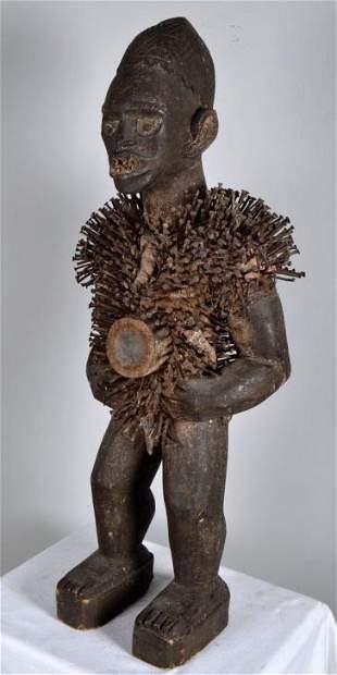 Songye Statue of Nkisi Yombe