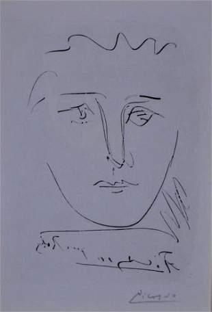 Pablo Picasso (Spanish 1881- 1973)