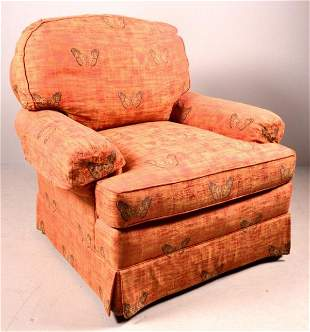 Modern Upholstered Club Chair