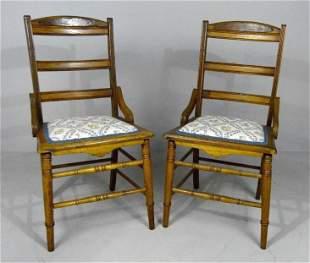 Pair of Eastlake Side Chairs