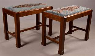 Pair of Bittner's George III Style Benches