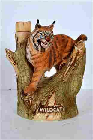 Kentucky Wildcat Bourbon Decanter #1