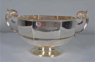 Lambert Silver Octagonal Punch Bowl c. 1903