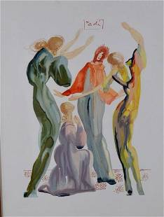 After Salvador Dali (Spanish, 1904-1989)