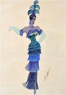 Erte (Russian/French, 1892-1990)