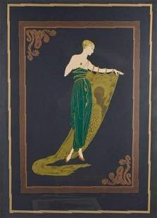 After Erte (Russian/French, 1892-1990)