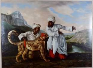 Orientalist School Painting