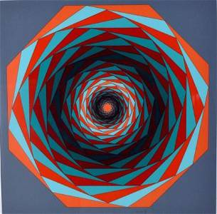 Victor Vasarely (Hungarian/French, 1906-1997)