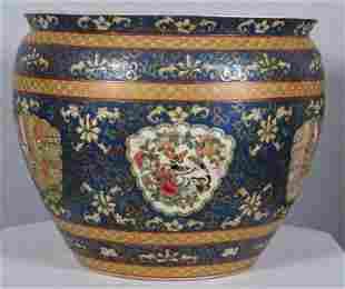 Enameled Chinese Fishbowl