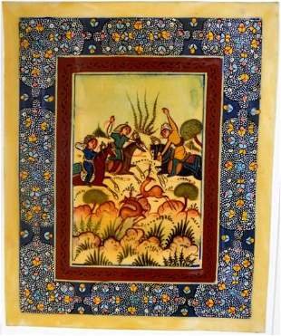 Persian Painting on Paper