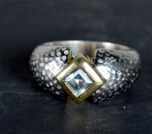 Silver Topaz Ring