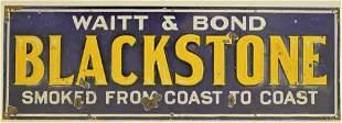 Blackstone Tobacco Sign
