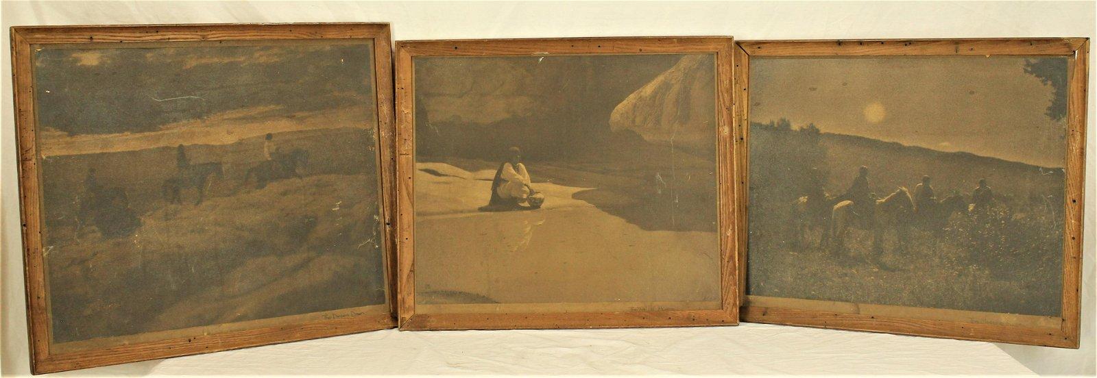 Carl Moon Enlarged Silver Gelatin Photographs