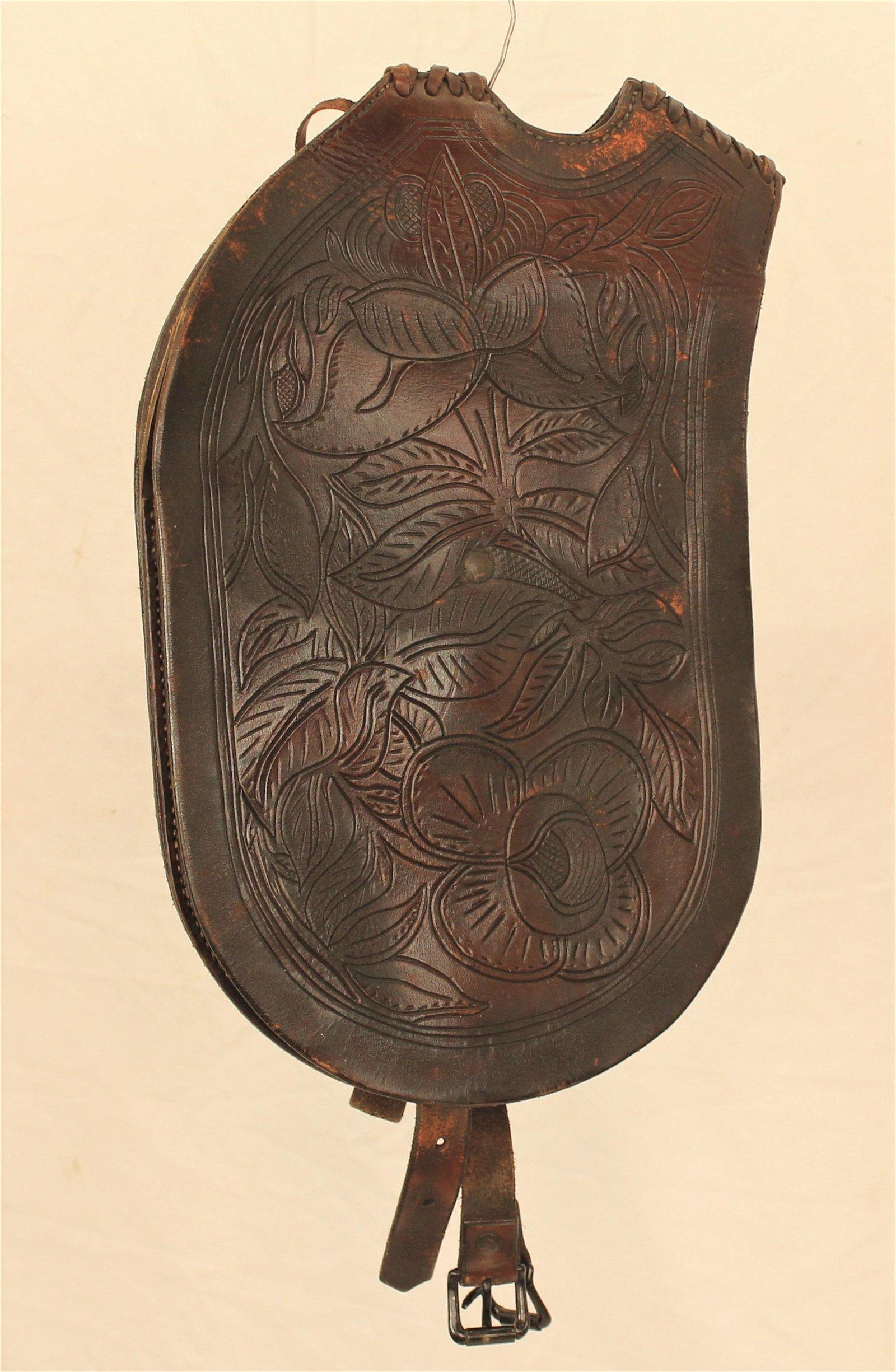 Early California Pommel Bags