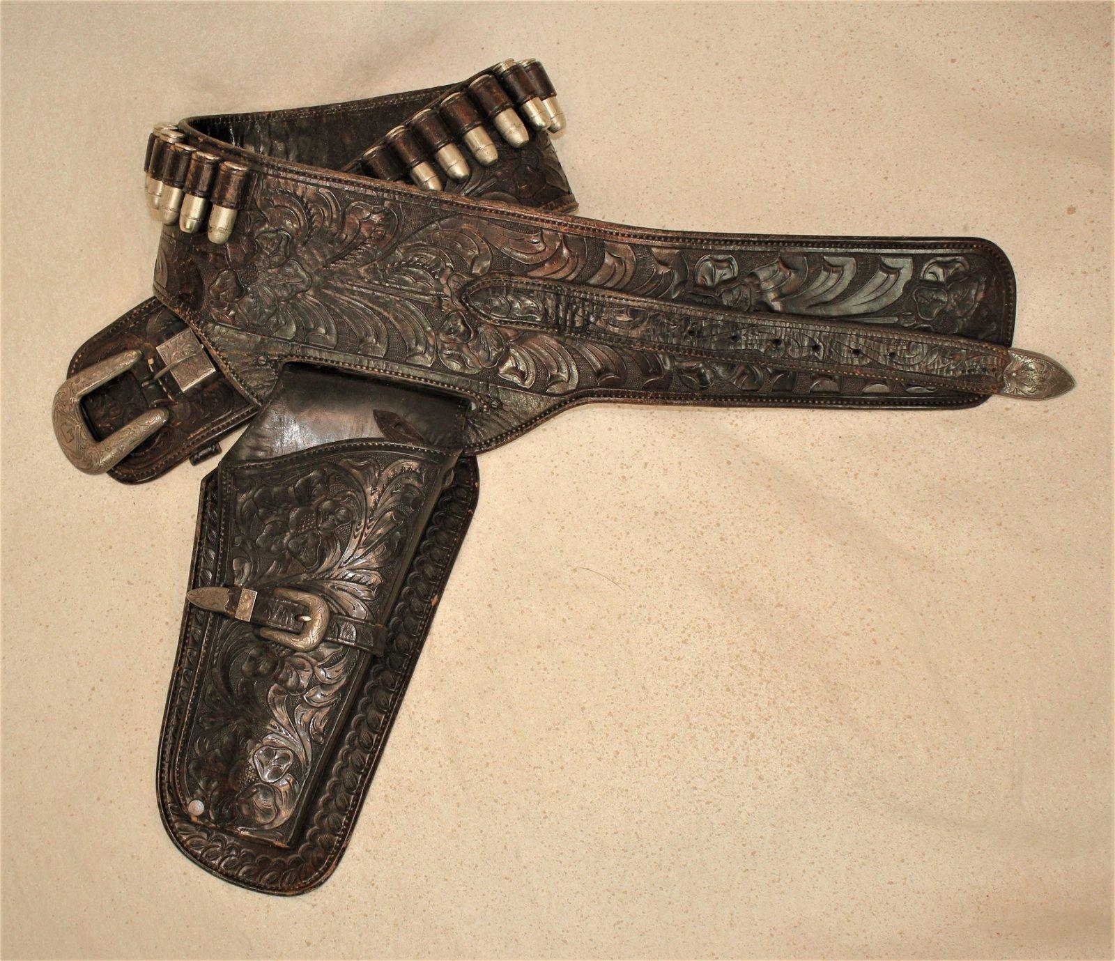 Hollywood Saddlery Gun Rig