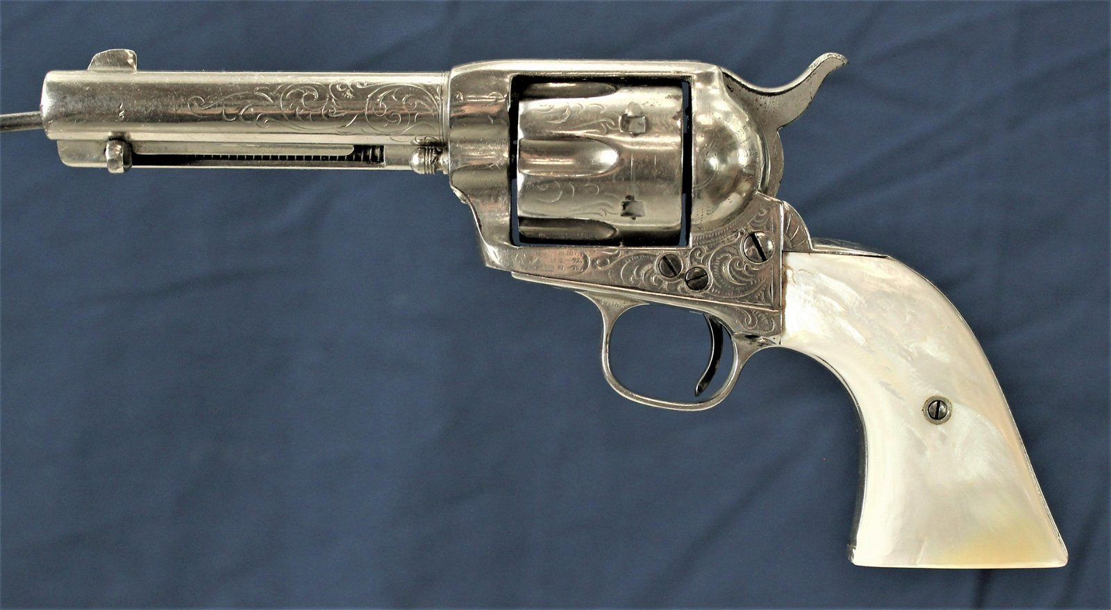 Engraved Colt SAA Revolver