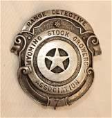 Wyoming Stock Growers Badge