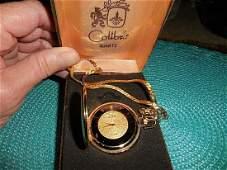 Colibri vintage in original box gold plated pocket