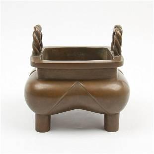 Chinese Copper Incense Burner Censer
