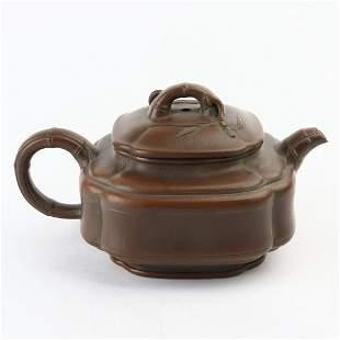 Chinese Yixing Zisha Clay Teapot