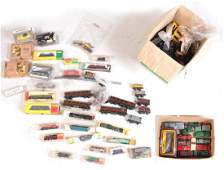 A COLLECTION OF FIFTEEN UNBOXED DINKY CARS, togeth