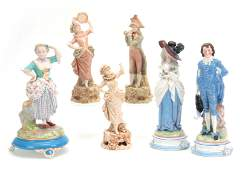 A SELECTION OF SIX LATE 19TH CENTURY CONTINENTAL P