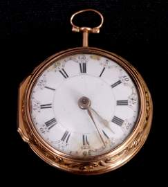 JOHN ELLICOTT, LONDON. A MID 18TH CENTURY GOLD KEY