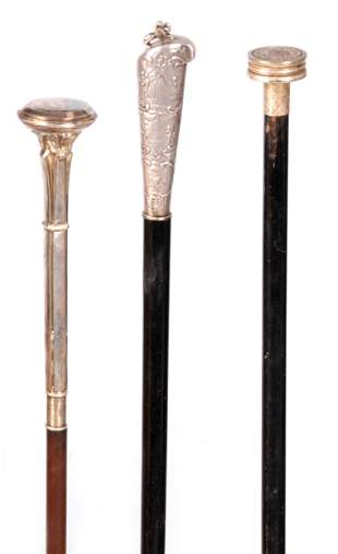 A SELECTION OF THREE EARLY 20TH CENTURY FRENCH SILVER
