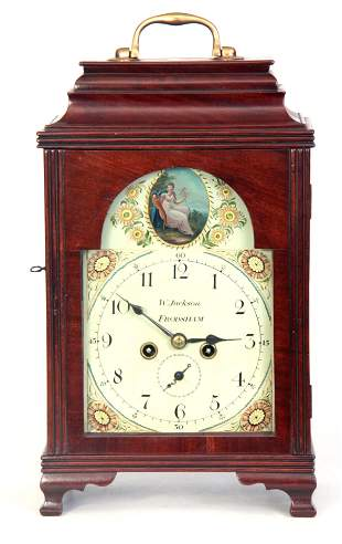 WILLIAM JACKSON, FRODSHAM A GEORGE III PAINTED DIAL