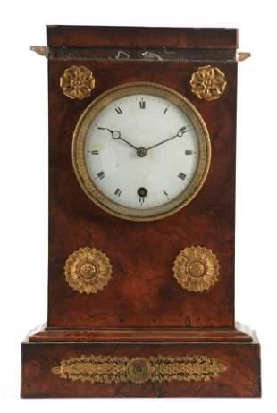 FIEFFE, A PARIS. AN 18TH CENTURY FRENCH MANTEL CLOCK