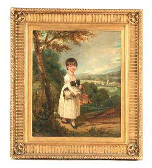 WILLIAM WESTALL 1781-1850.  AN EARLY 19TH CENTURY OIL