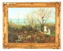 HENRY JOHN YEEND KING (1855 - 1924), OIL ON CANVAS