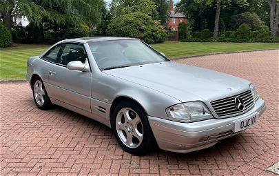 AN SL 280 MERCEDES BENZ 2.8 LITRE AUTOMATIC with a
