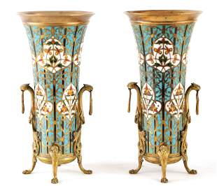 FERDINAND BARBEDIENNE, 1810-1892 A PAIR OF FRENCH
