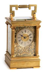 A LATE 19TH CENTURY FRENCH BRASS AND FILIGREE PANE