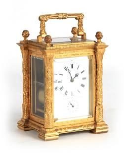 A.W. GRANGE, PARIS A MID 19TH CENTURY FRENCH GILT