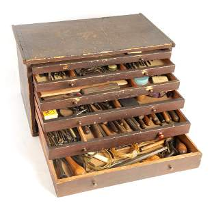 A LARGE COLLECTION OF JEWELERS AND WATCHMAKERS TOO