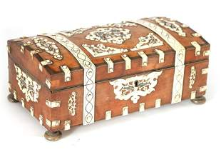 A 19TH CENTURY ANGLO INDIAN VIZAGAPATAM SANDALWOOD