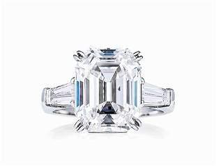An 8.05 Carat Diamond Ring, by Cartier