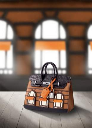 Hermes 2020 Limited Edition Ebene Faubourg Birkin 20