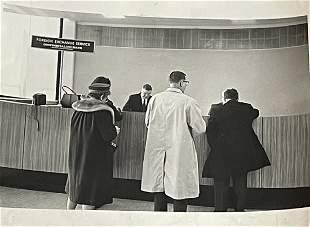 1987 Continental Foreign Exchange Gelatin Silver Photo