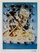 Salvador Dali GALATEA OF THE SPHERES- Print Art